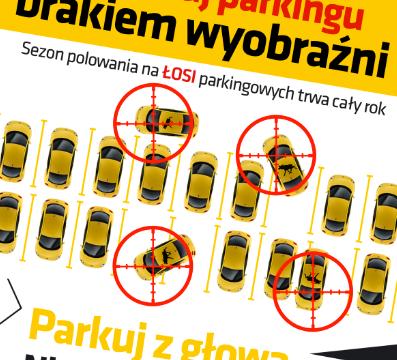 plakat parking